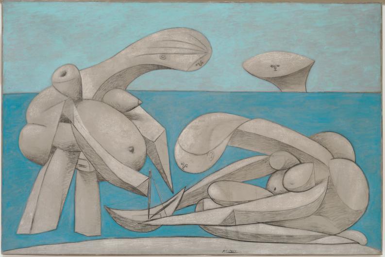 Picasso. Baigneuses et baigneurs au Musée des Beaux-Arts de Lyon