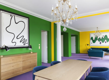 L'art contemporain à l'honneur à l'Hôtel Le Bristol
