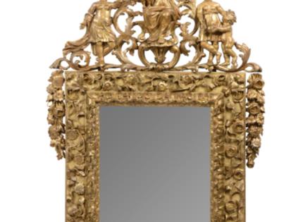 Cadre glace de 1643 : un bijou de réalisation