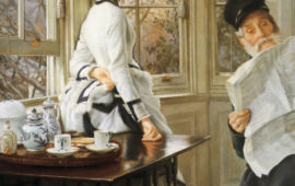 James Tissot (1836-1902), l' ambigu moderne