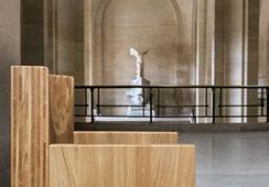 Mobilier exclusif au Louvre par le designer Martin Szekely
