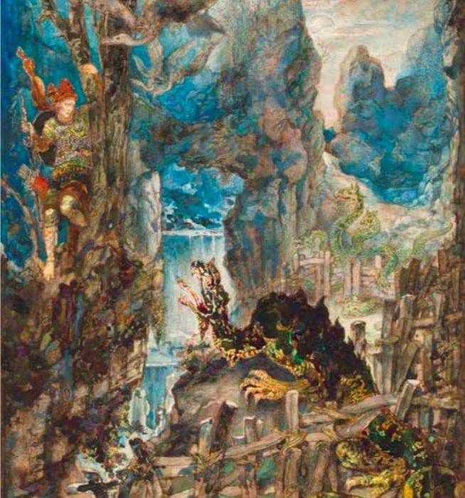Les Fables de La Fontaine sous le pinceau de Gustave Moreau