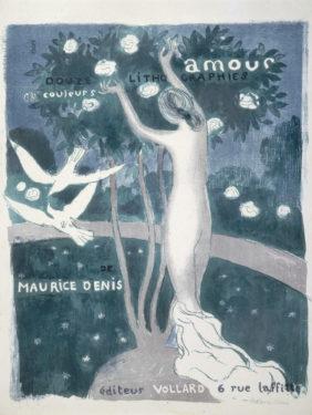 Maurice Denis, Amour, couverture, 1892‐1899 Lithographie en trois couleurs,© Paris Musées / Petit Palais