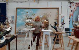 Dans l'atelier de Marlène Mocquet, «un espace qui se nourrit par lui-même»