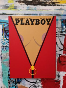 Fenx, Playyboy, 30 x 40 cm. © Cohle Gallery