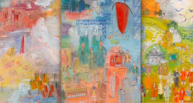 Raoul Dufy, un peintre en lévitation