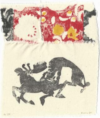 Marcel Alocco, Fragment du Patchwork (F.P.) n° 239, 1985
