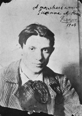 Pablo_Picasso, 1904, Paris, Photograph by Ricard Canals i Llambí