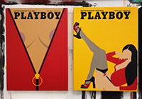 Souvenir d'une couverture Playboy