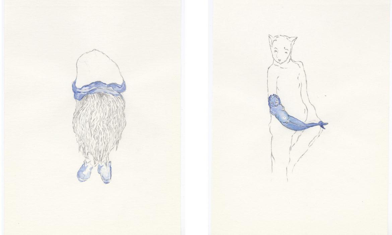 «Un simple crayon noir et un carnet de croquis», Michèle Sylvander