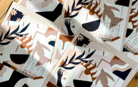 Édition d'art de l'artiste Madi pour la Cohle Gallery