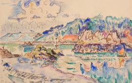 Paul Signac à la Galerie de la Présidence